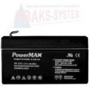 Akumulator PowerMax 12V1,3 Ah
