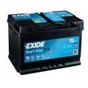 Exide Micro-Hybrid EFB - EL700 - 12 V - 70 Ah - 630 A