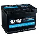 Exide Micro-Hybrid AGM - EK800 - 12 V - 80 Ah - 800 A
