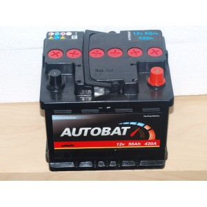 Autobat - 12 V - 50 Ah - 420 A