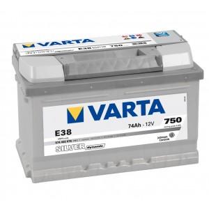 Varta Silver - 574402075 - 12 V - 74 Ah - 750 A