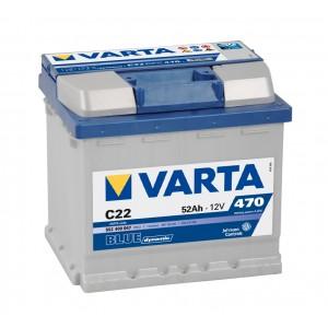 Varta Blue - 552400047 - 12 V - 52 Ah - 470 A