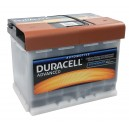 Akumulator Duracell Advanced DA63H OE 63Ah 650A