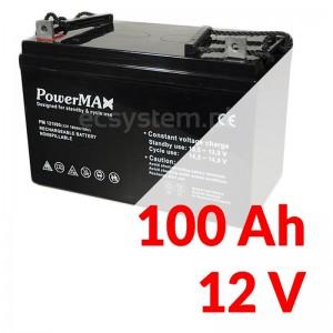 PowerMax Gel 12V 100Ah